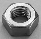 M4 ST/ST A4 HEX FULL NUTS DIN 934